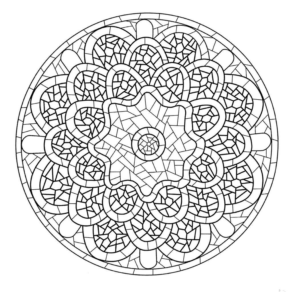 Kilo Kaybı Boyama Için Mandala Boyama Için Mandala